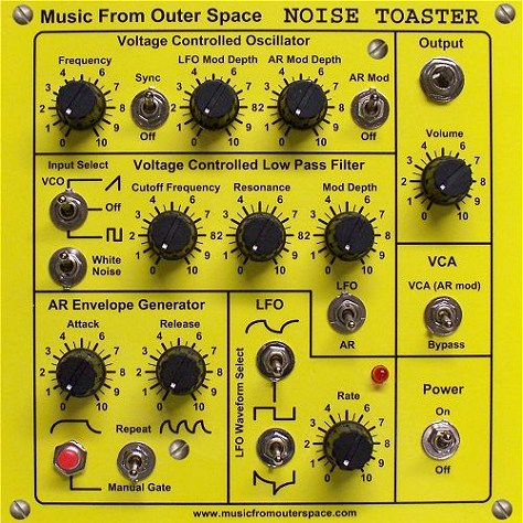 """This is an excellent project for anyone interested in synth-diy or """"noise"""" boxes."""